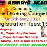 shree-Abinaya-academy-Online-drawing-and-painting-competition-cartoon-nature-india-leaders-kids-may-9-2021