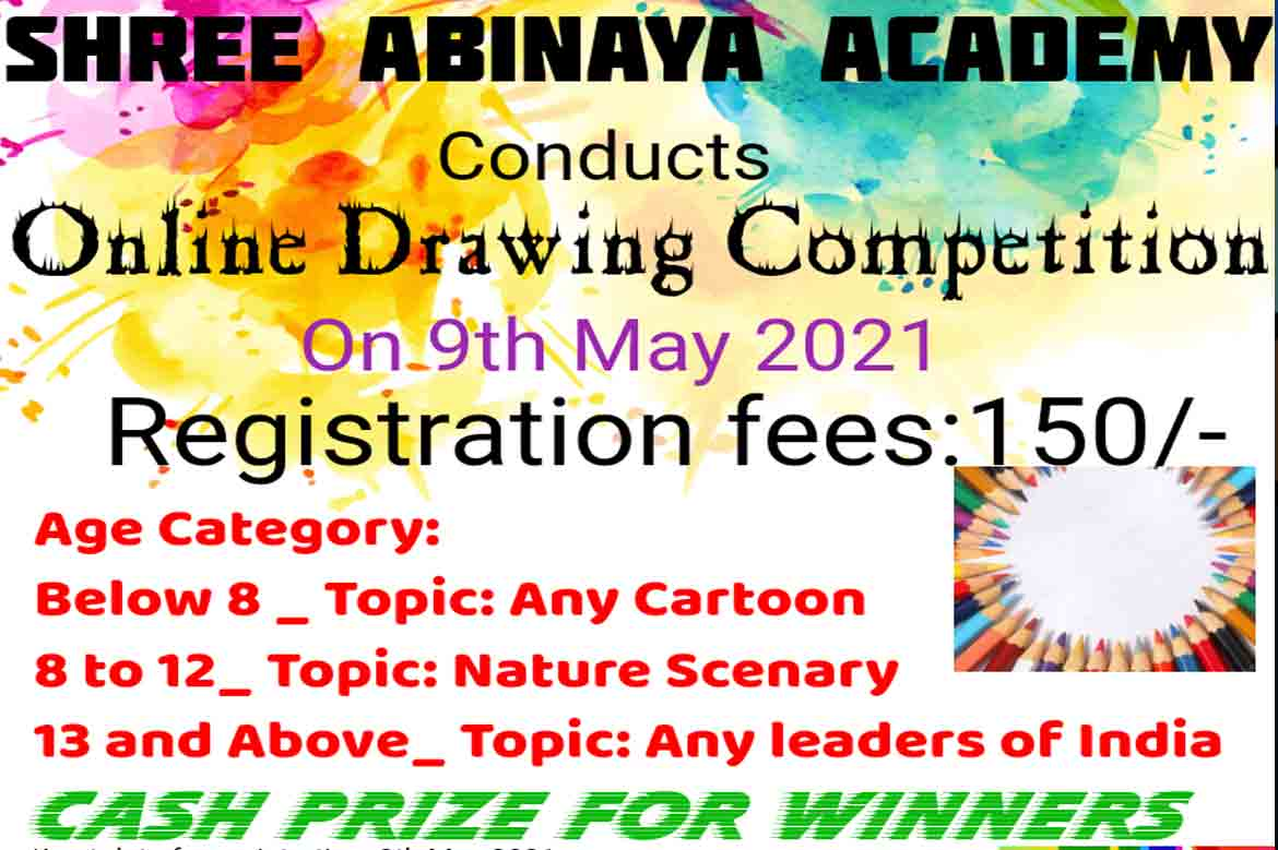 Shree Abinaya Academy | Online Dance and Drawing Competition