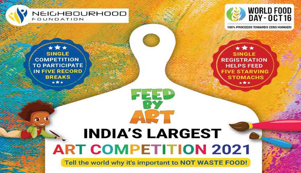 Feed By Art – India's largest Art Competition 2021 | By Neighbourhood Foundation
