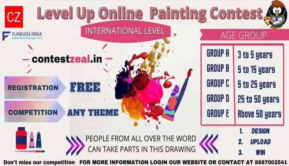 Free Online Painting And Drawing Competition 2021 | By Contestzeal